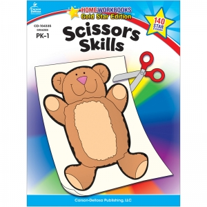 SCISSORS SKILLS HOME WORKBOOK  GR PK-1