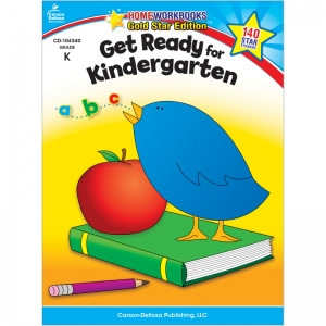 GET READY FOR KINDERGARTEN HOME  WORKBOOK GR K