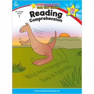 READING COMPREHENSION HOME WORKBOOK  GR 1