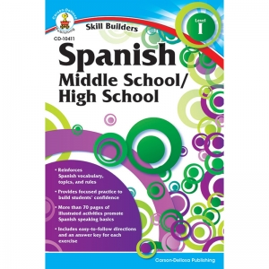SKILL BUILDERS SPANISH LEVEL 1  GR 6-8