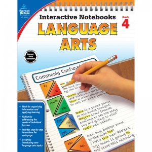 Interactive Notebooks: Language Arts Resource Book, Grade 4