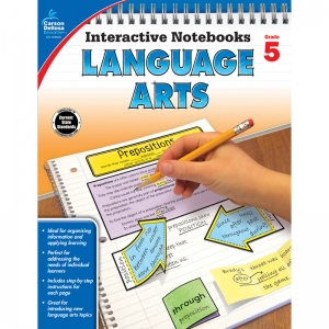 Interactive Notebooks: Language Arts Resource Book, Grade 5