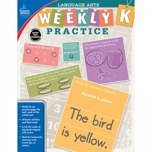 WEEKLY PRACTICE LANGUAGE ARTS GR K