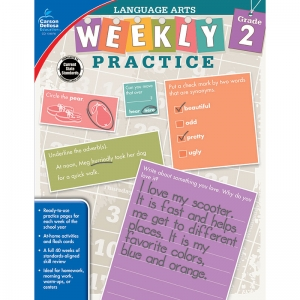 WEEKLY PRACTICE LANGUAGE ARTS GR 2