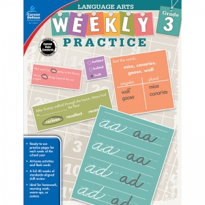 WEEKLY PRACTICE LANGUAGE ARTS GR 3