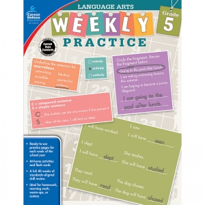 WEEKLY PRACTICE LANGUAGE ARTS GR 5