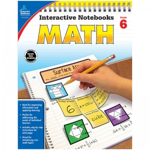 Interactive Notebooks: Math Resource Book, Grade 6