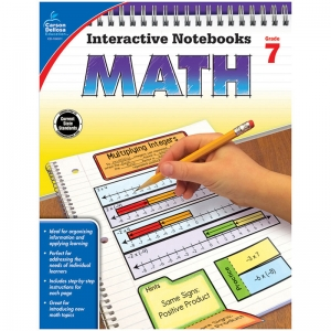 Interactive Notebooks: Math Resource Book, Grade 7