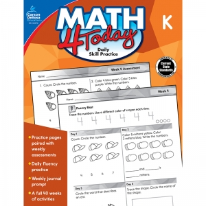 Math 4 Today Workbook, Grade K
