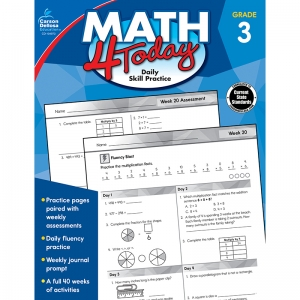 Math 4 Today Workbook, Grade 3