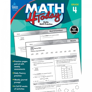 Math 4 Today Workbook, Grade 4