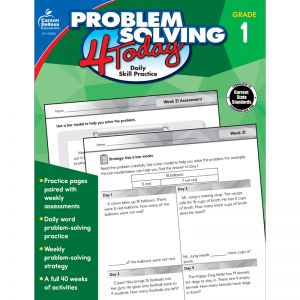Problem Solving 4 Today Workbook, Grade 1, Pack of 3