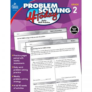 Problem Solving 4 Today Workbook, Grade 2