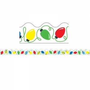 Holiday Lights Scalloped Borders, 39'