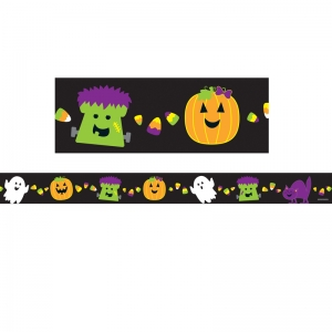 Halloween Straight Borders, 36'