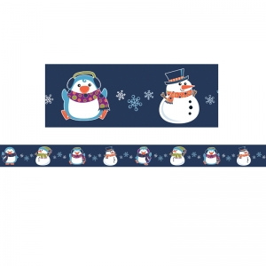 WINTER FUN STRAIGHT BORDER