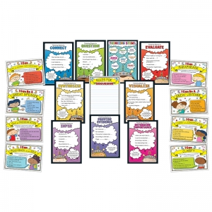 Thinking Stems Bulletin Board Sets, K-5