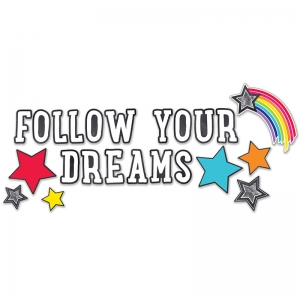 Stars Follow Your Dreams Bulletin Board Set