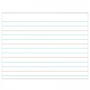 HANDWRITING PAPER LAMINATED  CHARTLET