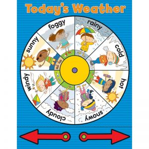 Weather Wheel Chart, Pack of 6