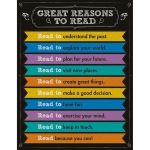 GREAT REASONS TO READ CHARTLET  GR 1-5