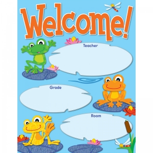 FUNKY FROGS WELCOME CHART