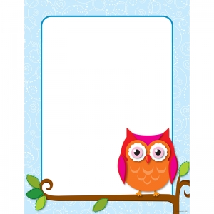 COLORFUL OWLS CHART