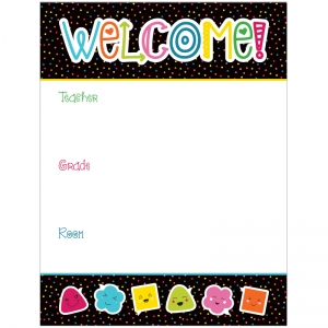 SCHOOL POP WELCOME CHARTLET