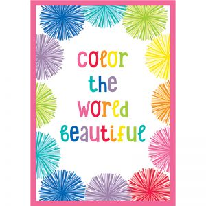 Hello Sunshine Color the World Beautiful Chart