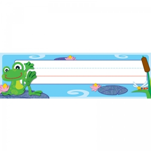 FUNKY FROGS DESK NAME PLATES