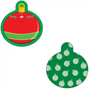 MINI CUT-OUTS SINGLE CHRISTMAS  ORNAMENTS