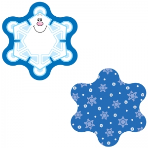 MINI CUT OUT SNOWFLAKES SINGLE  DESIGN