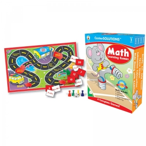 CenterSOLUTIONS Math Learning Games, Grade 1