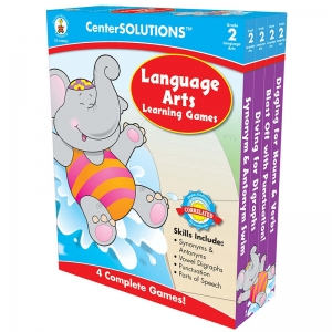 LANGUAGE ARTS LEARNING GAMES GR 2  CENTERSOLUTIONS