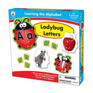 Ladybug Letters Puzzle Game