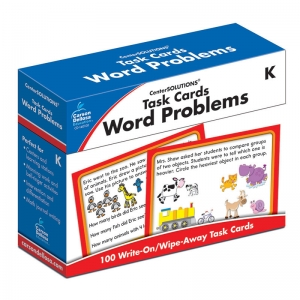 TASK CARDS WORD PROBLEMS GR K