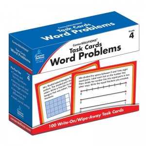 TASK CARDS WORD PROBLEMS GR 4