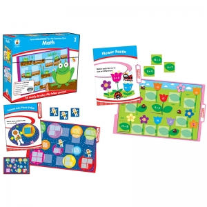 Math File Folder Game, Grade 2, 16 Games, 19 Sheets of Cards