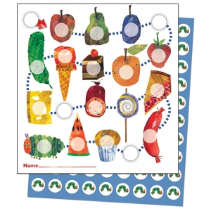 THE VERY HUNGRY CATERPILLAR MINI  INCENTIVE CHARTS