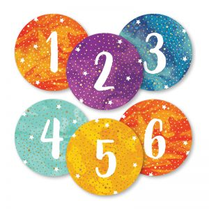 Galaxy Magnetic Numbers, 3 Packs
