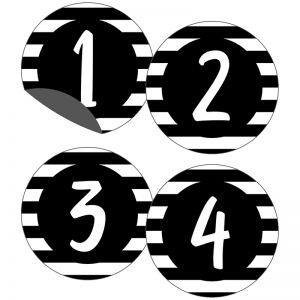 Simply Stylish Numbers Magnetic CutOuts, Pack of 36