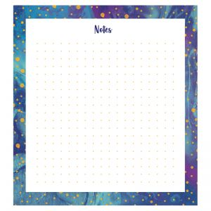 Galaxy Notepad, Pack of 6