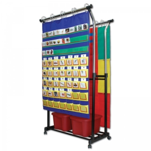 DOUBLE POCKET CHART STAND &  ACCESSORIES