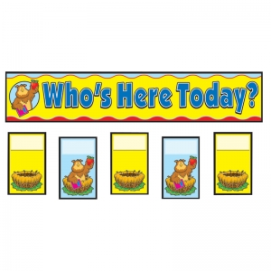 ATTENDANCE REPLACEMENT CARDS  POCKET CHARTS