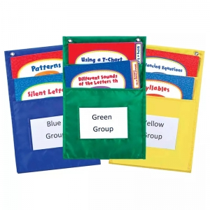 CENTER ORGANIZERS POCKET CHARTS