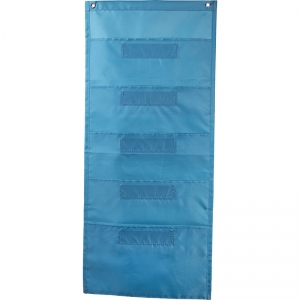 FILE FOLDER STORAGE TEAL POCKET  CHART