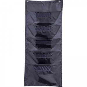 FILE FOLDER STORAGE BLACK POCKET  CHART