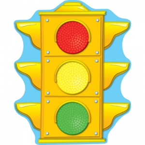 Stoplight Two-Sided Decorations - Year Round