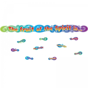 THE FRUIT OF THE SPIRIT MINI BB SET  GR PK-3