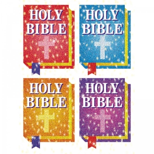 DAZZLE STICKERS BIBLES 120/PK ACID  LIGNIN FREE